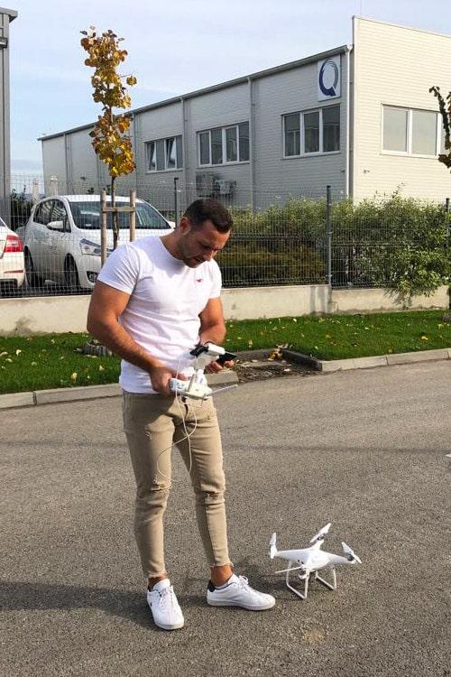 drón felvétel készítés ár